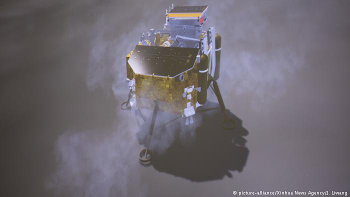 China marca un hito al llegar al lado oscuro de la Luna