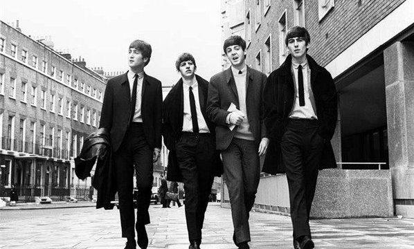 Los cuatro de Liverpool. Foto Reuters.