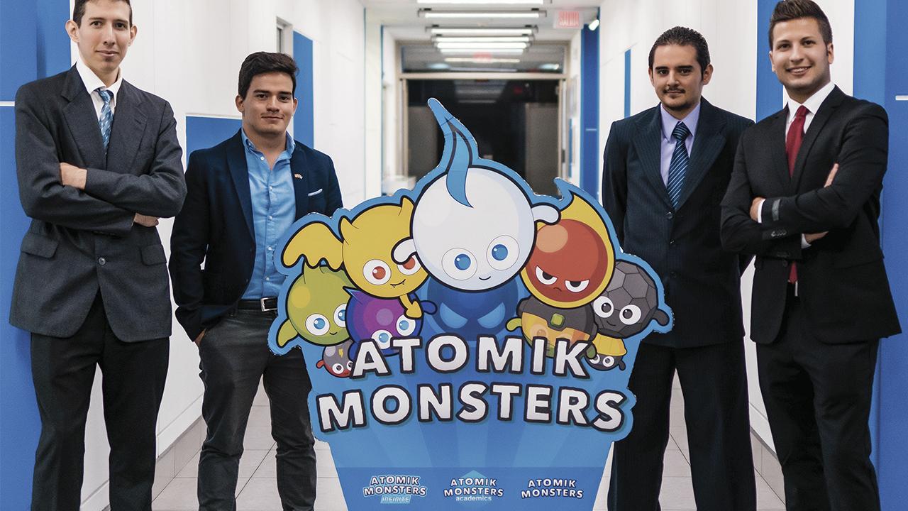 Atomik Monsters quiere que aprendas de química a través del juego