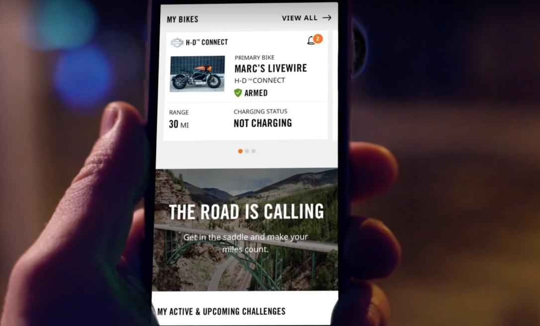 Captura de pantalla 2019 01 07 a las 14.57.00 - Harley-Davidson presenta su moto eléctrica con bluetooth