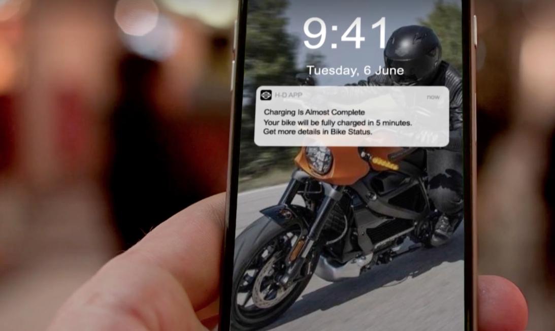 Captura de pantalla 2019 01 07 a las 14.58.30 - Harley-Davidson presenta su moto eléctrica con bluetooth