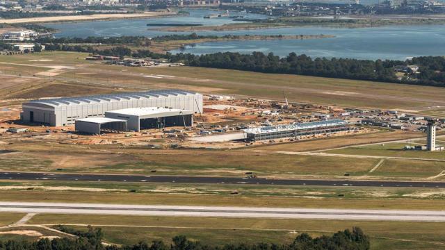 El complejo Mobile Aeroplex en Brookley. Foto Mobile Aeroplex.