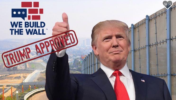 Un veterano de guerra recaudó más de 20 mdd para el muro fronterizo de Trump