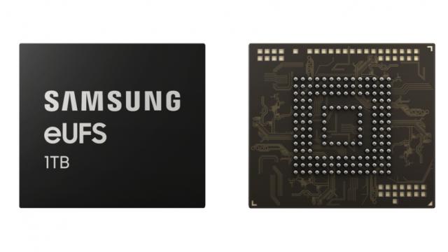 El nuevo chip de 1TB promete no alterar el tamaño de los dispositivos. Foto Samsung Newsroom.
