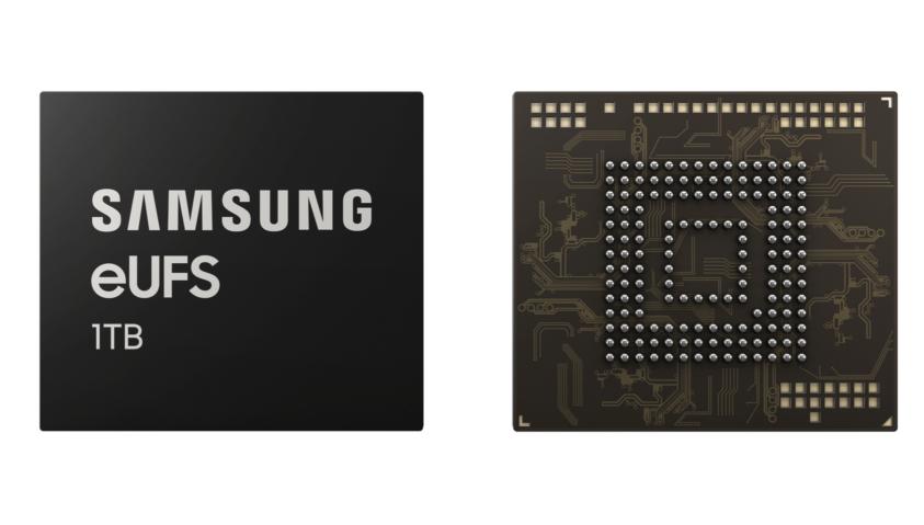 Samsung anuncia un nuevo teléfono con un terabyte de almacenamiento