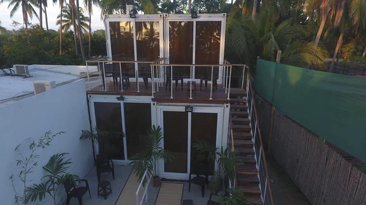 Esta firma usa contenedores para crear habitaciones en El Salvador