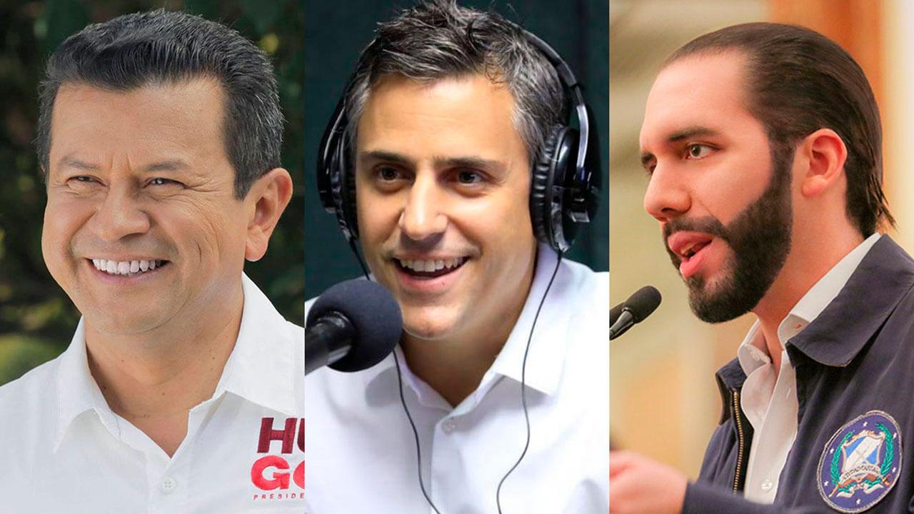 Conoce a los tres hombres que buscan ser el próximo presidente de El Salvador