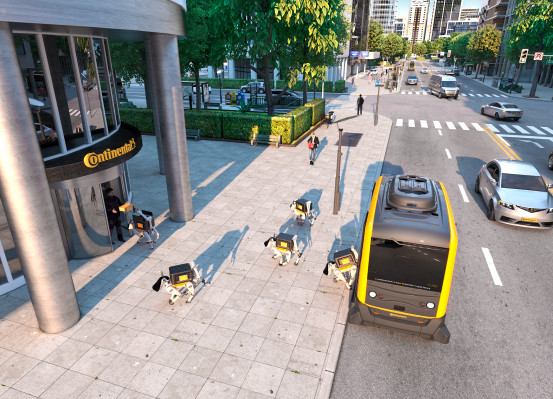 CES 2019 | Continental quiere soltar a sus 'perrobots'