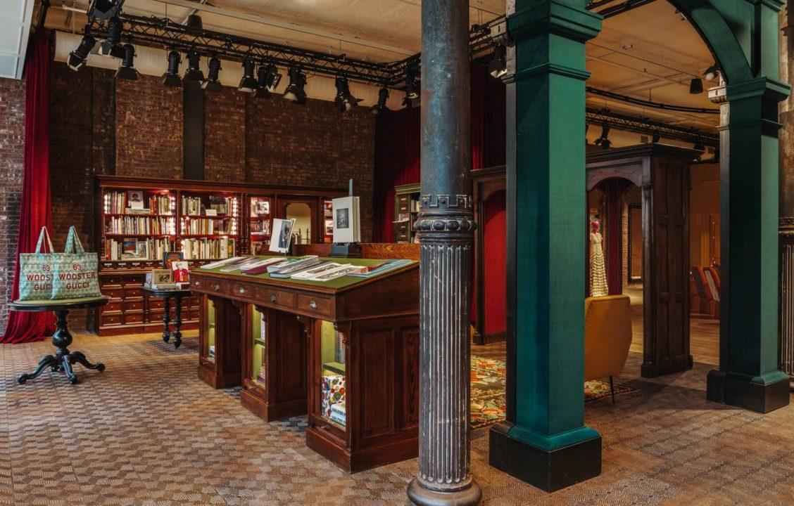 Gucci abre una librería en Nueva York y escribe otra página en su historia