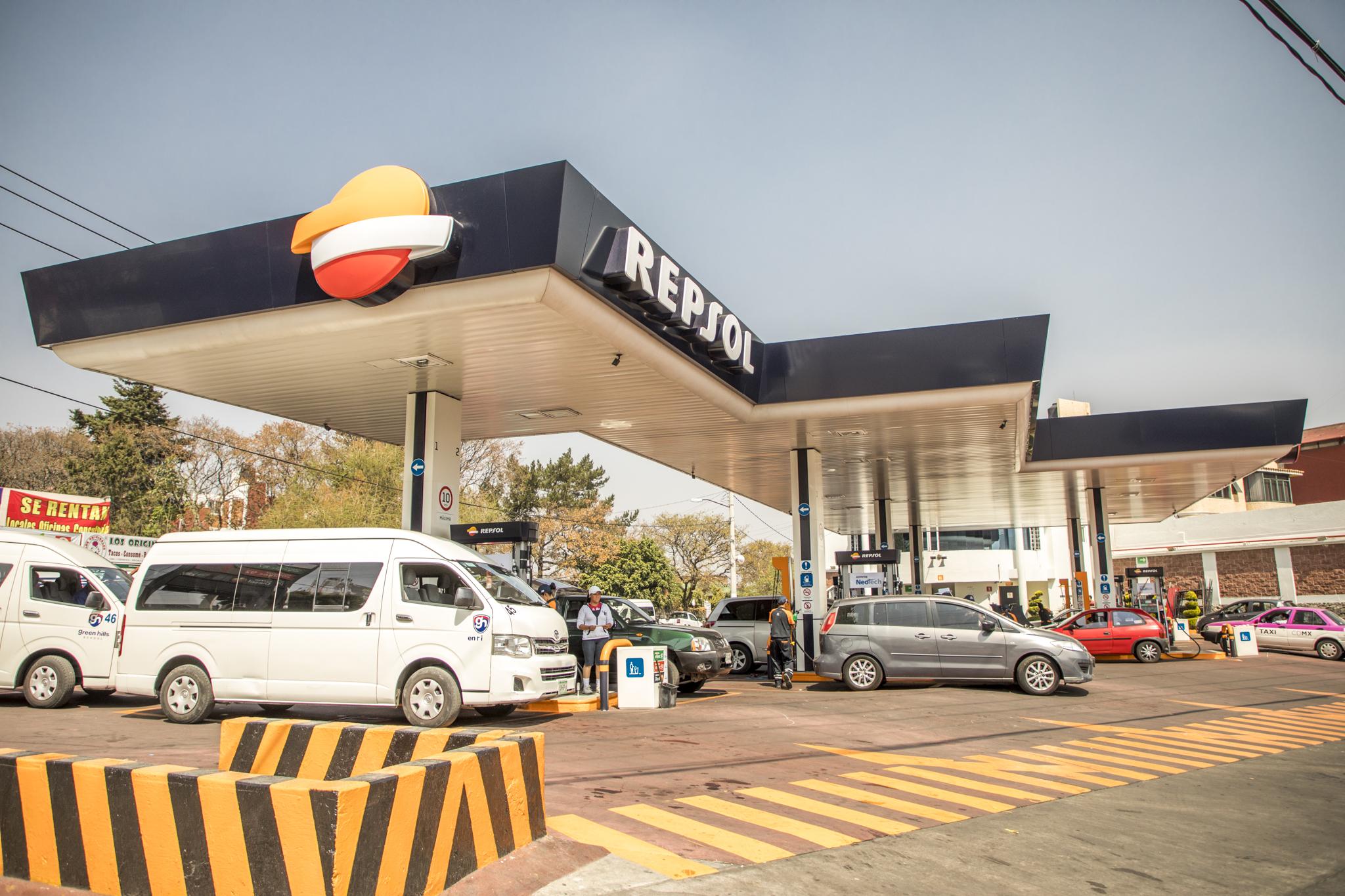 Repsol cierra su primera gasolinera en México por desabasto