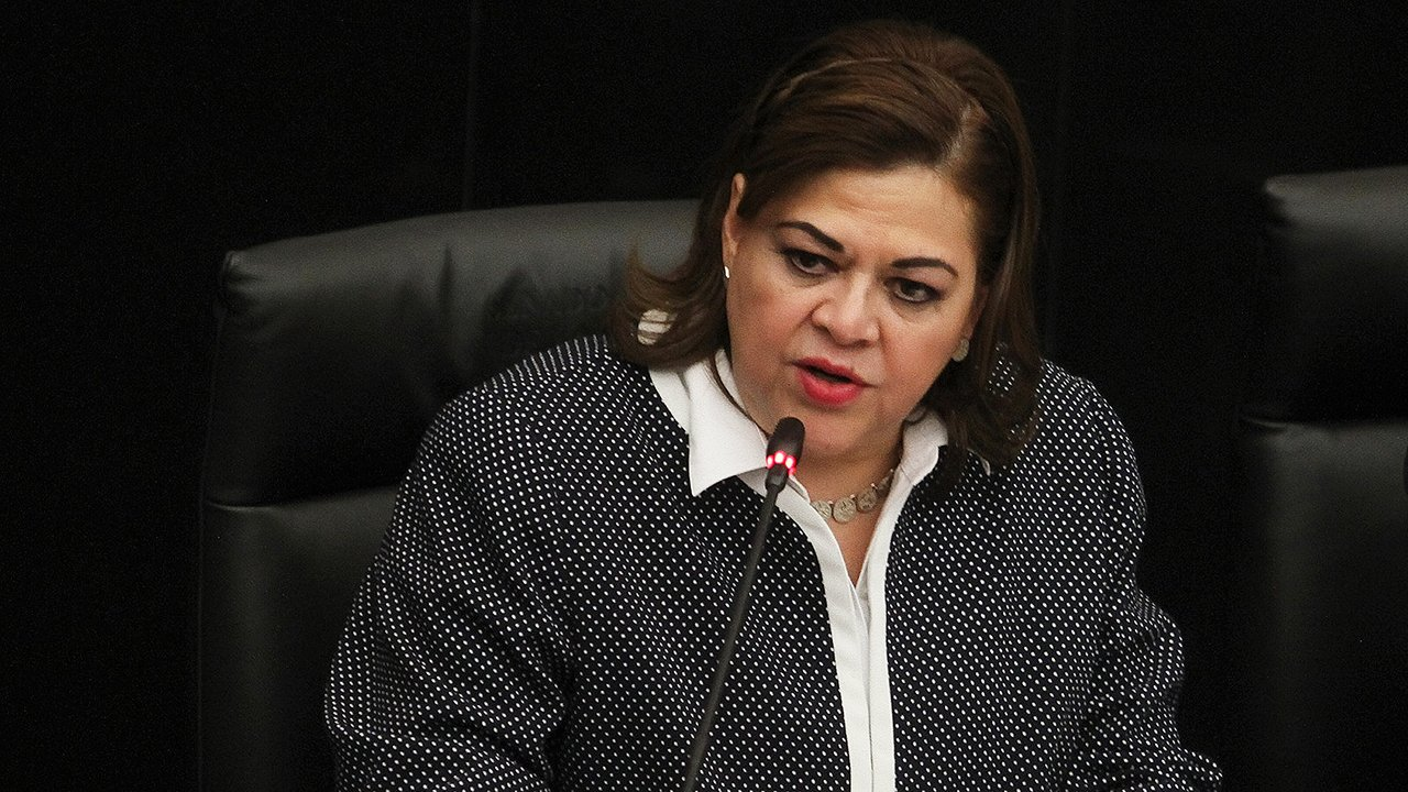 Eva Verónica De Gyves Zárate, exmagistrada del Tribunal Superior de Justicia del Distrito Federal. Foto: Oscar Ramírez/Notimex.