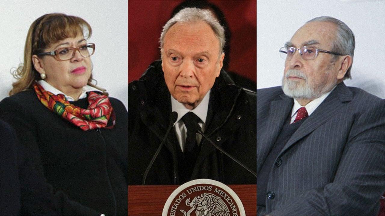Uno de estos tres cercanos a AMLO será Fiscal General de la República