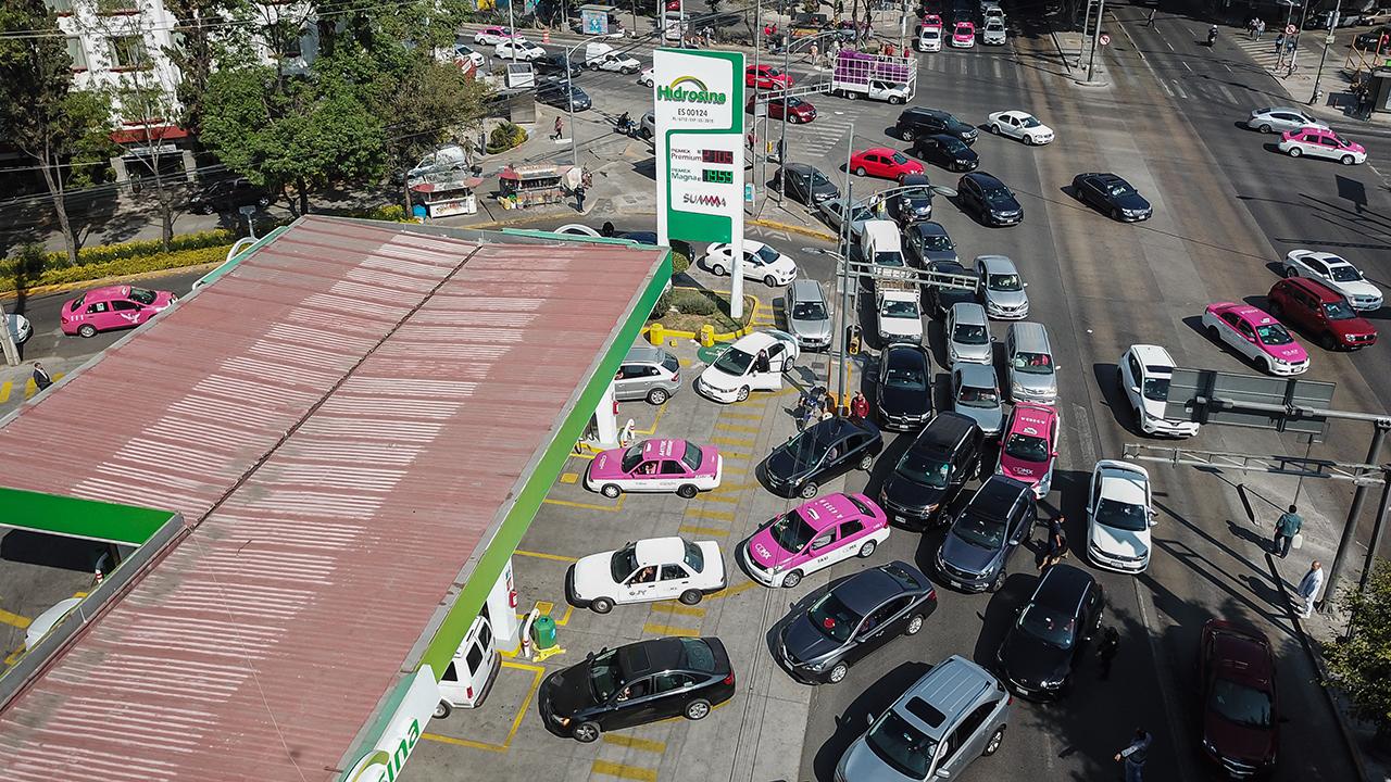 La crisis de las gasolinas: el orden y las filas