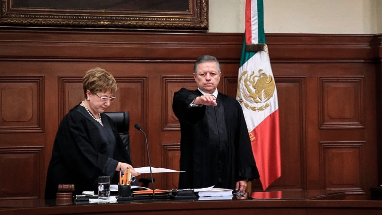 Arturo Zaldívar, nuevo presidente de la SCJN