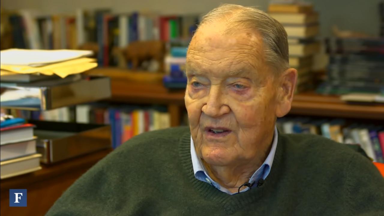 Muere a los 89 años Jack Bogle, fundador de Vanguard
