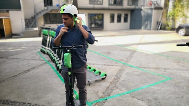 Lime elscooter