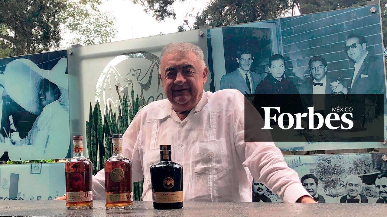 El primer fabricante de ron Bacardí que no nació en Cuba