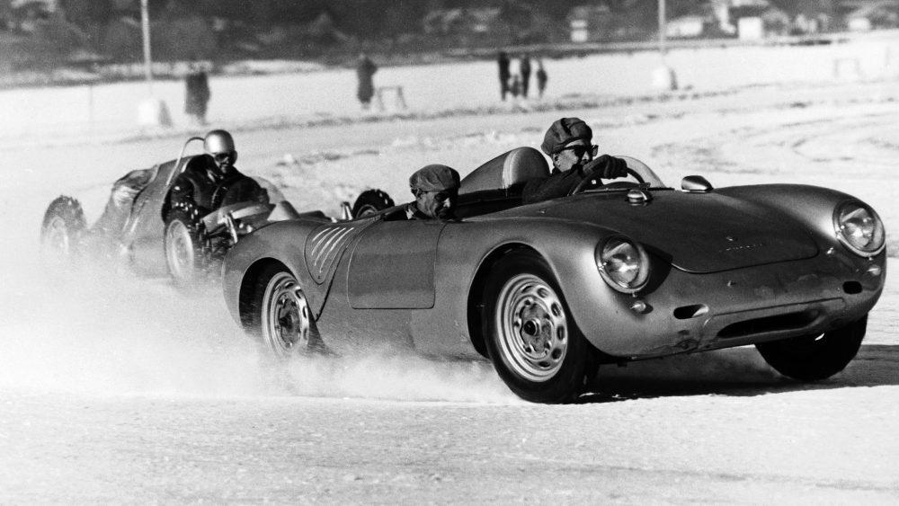 Porsche carrera de hielo