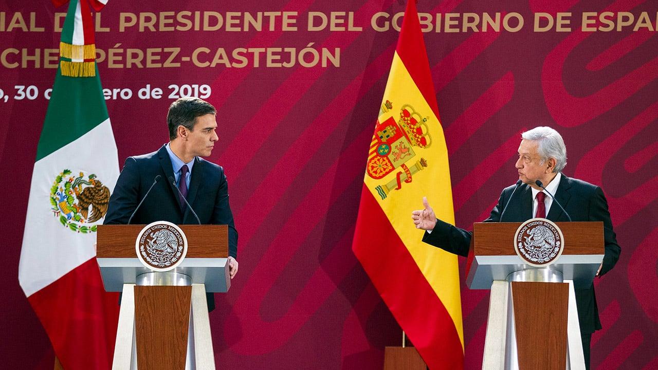 Las disculpas, España y México en las redes sociales