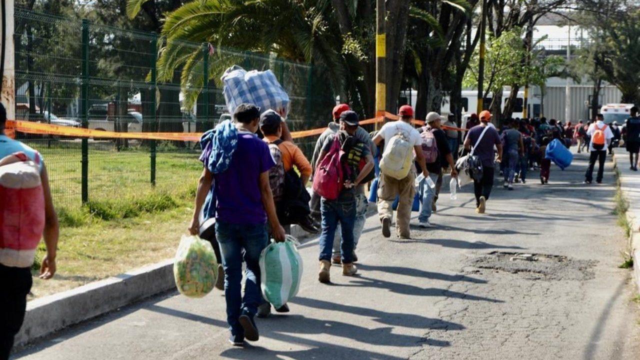 Concentración de migrantes provoca tensión al sur de México