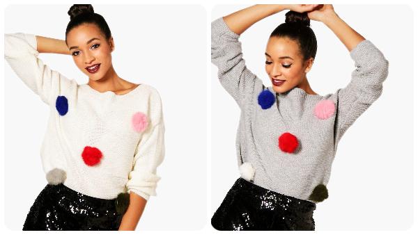 El sweater en cuestión. Foto Bohoo