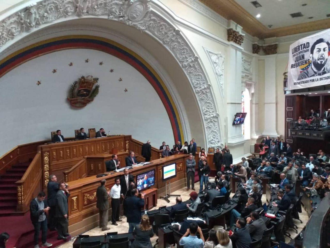 Asamblea Constituyente de Venezuela sesiona tras pedido de desafuero a Guaidó