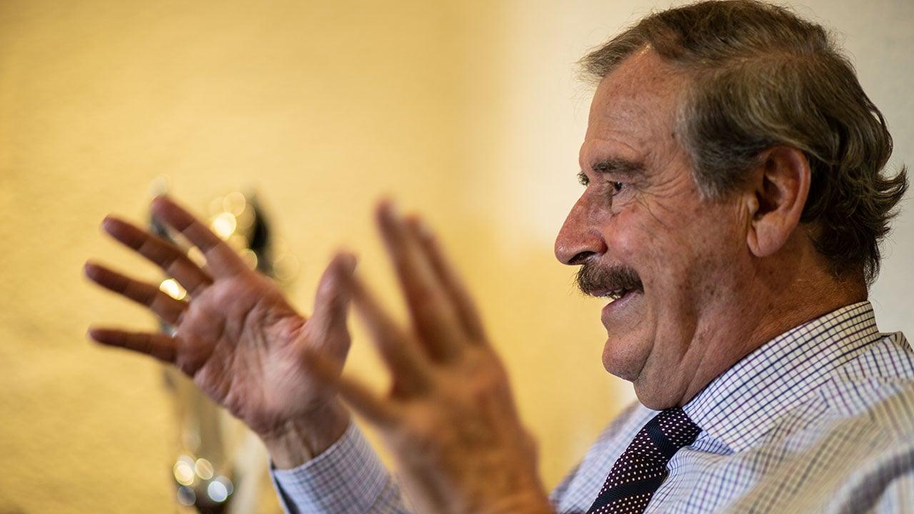 '¿Ya te sientes Dios?', pregunta Vicente Fox a López Obrador