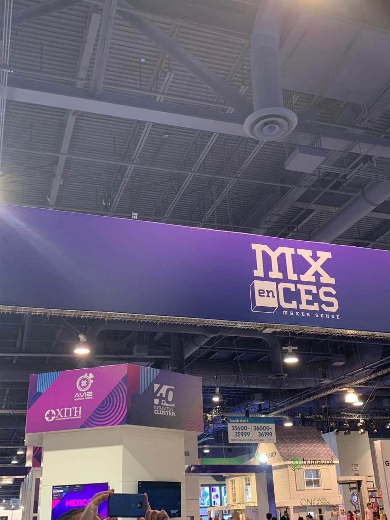 CES 2019 | México arranca actividades en la feria de tecnología de Las Vegas