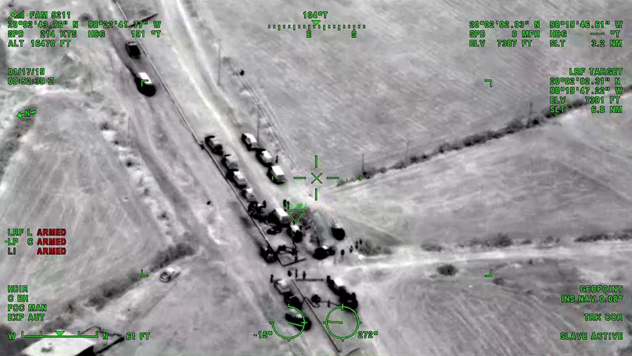 Con helicóptero y visión nocturna, el Ejército ahuyenta a huachicoleros de ducto