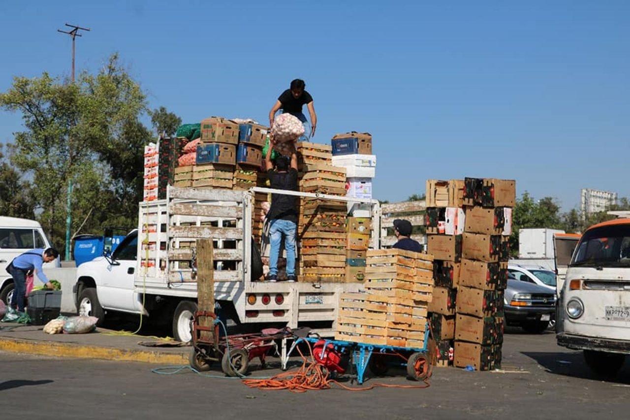 90,000 toneladas de alimentos en peligro por desabasto de gasolina