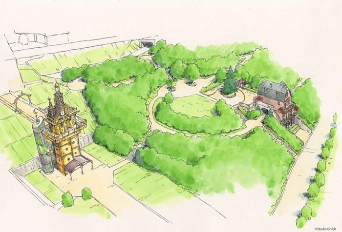 parque temático Estudios Ghibli