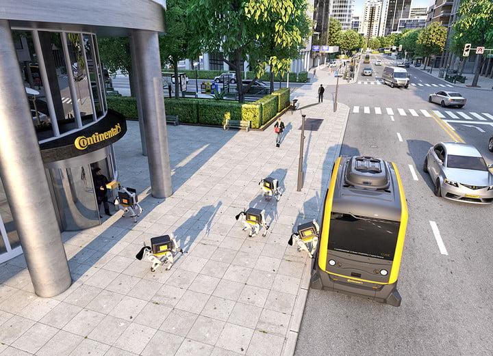 Estos perros robot quieren conquistar el mercado de entregas a domicilio