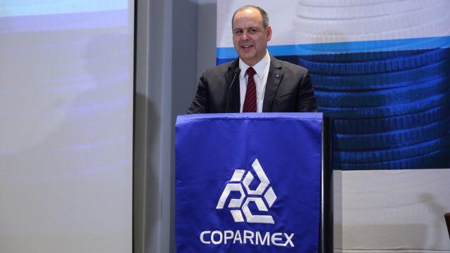 Gustavo de Hoyos Walther, Coparmex.