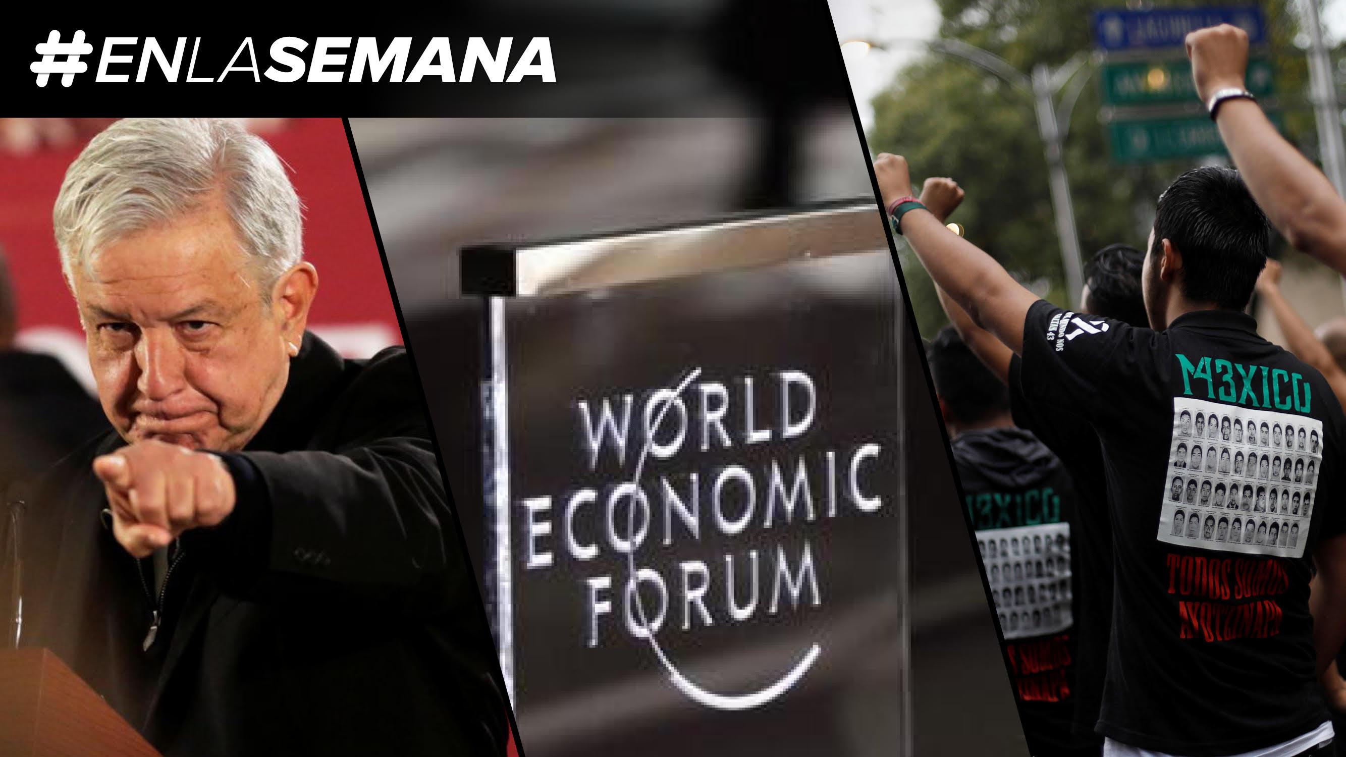 Agenda Forbes | Gira por territorio huachicol, y el WEF inicia sin Trump ni AMLO