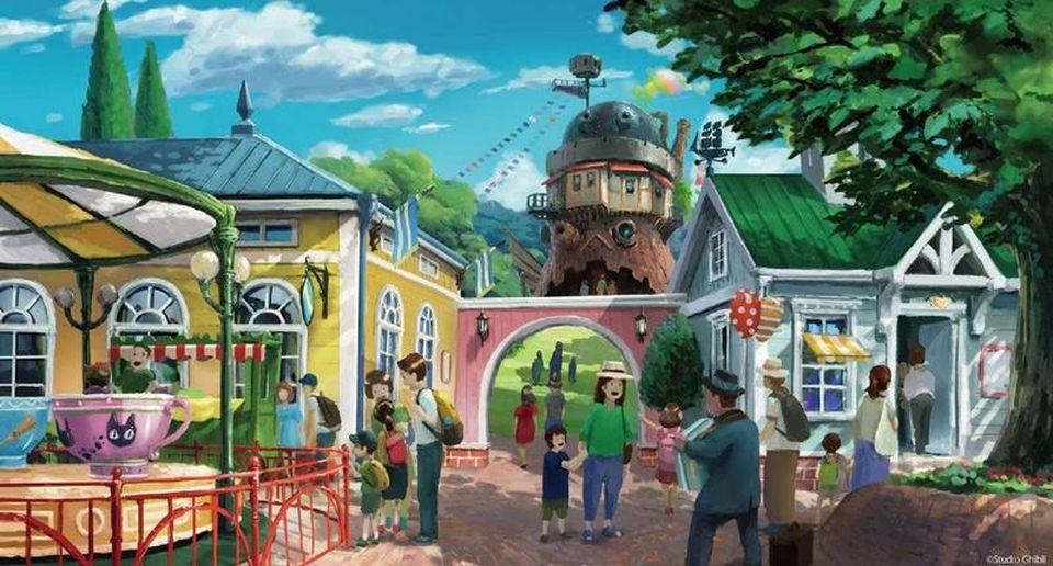 Así será el parque inspirado en las películas de Hayao Miyazaki