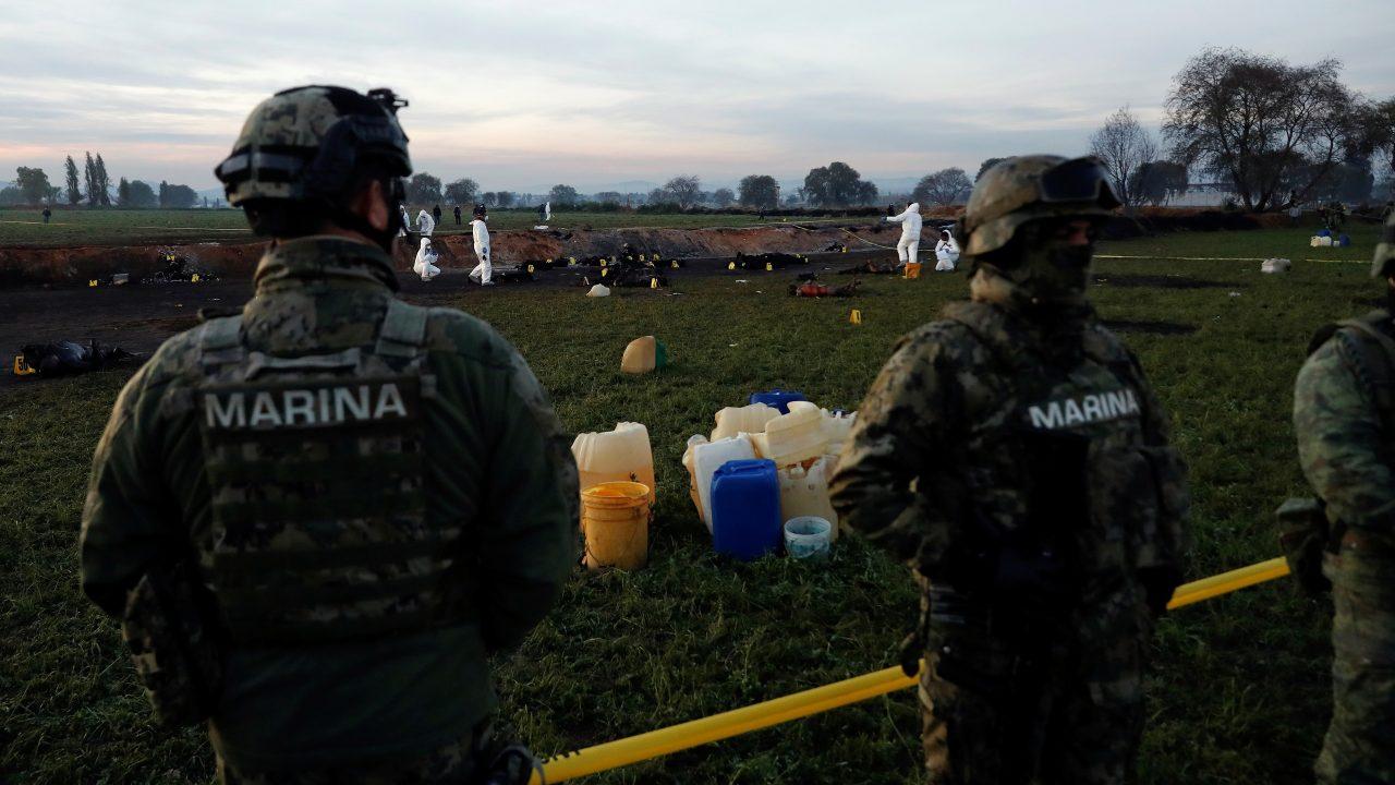 Secretaría de Marina reporta ataque en ducto Tuxpan-Azcapotzalco