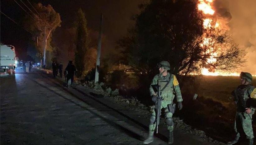 'No vaya a explotar esa madre', advirtieron ejército y policía a población de Tlahuelilpan