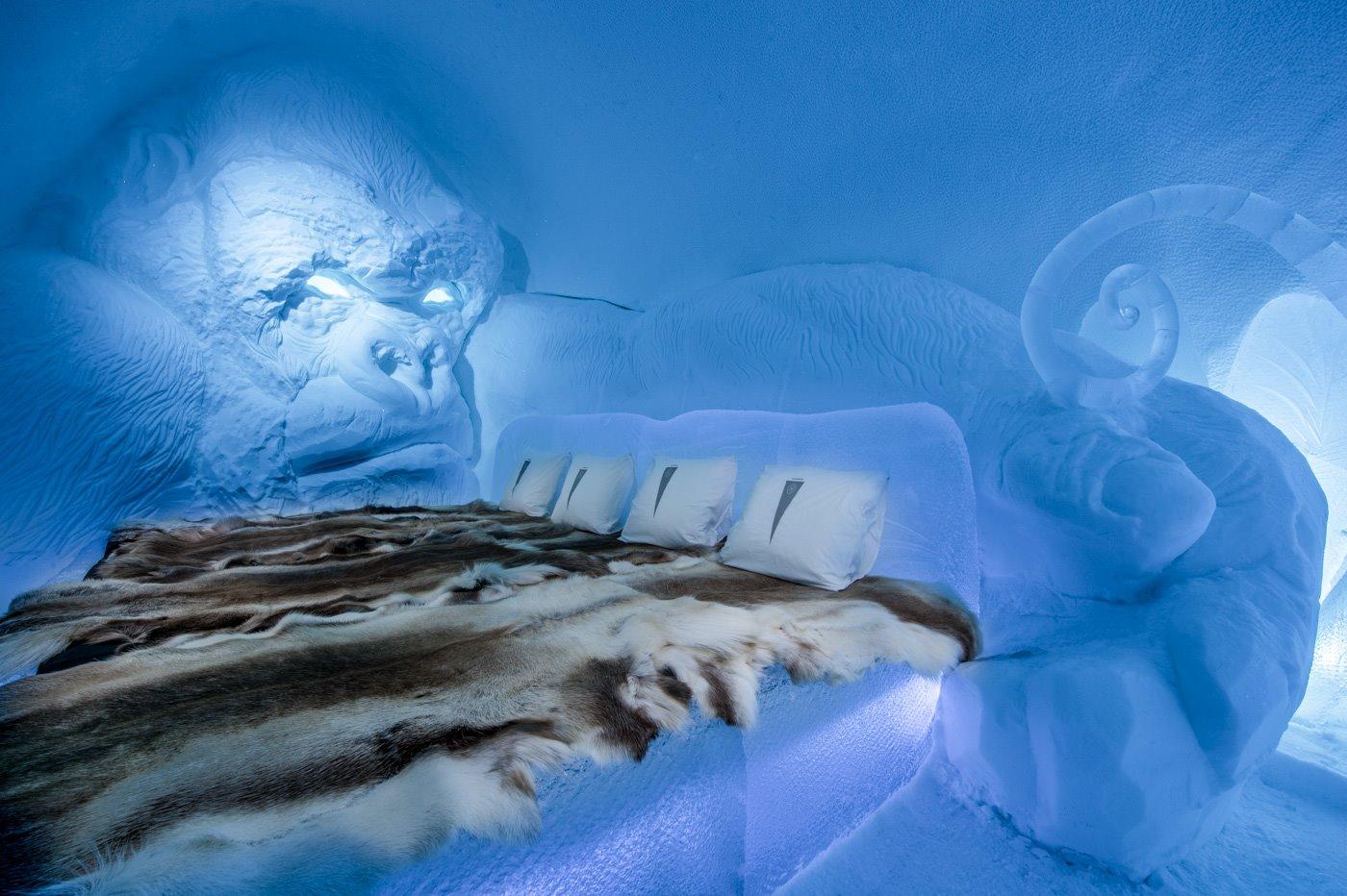 Hoteles de hielo: 5 hospedajes sin temor al frío