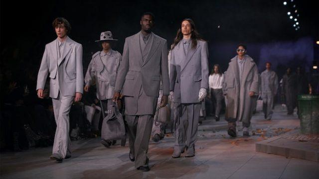 Virgil Abloh rinde homenaje a Michael Jackson en París