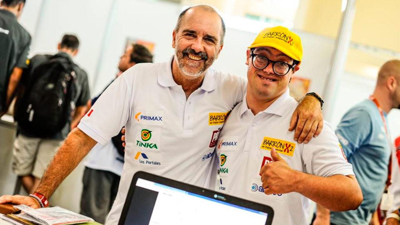 El primer competidor con síndrome de down busca hacer historia en el Rally Dakar