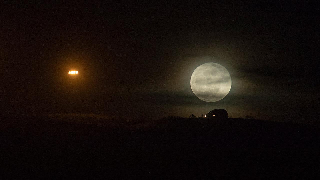 Así se verá el eclipse total lunar el próximo domingo