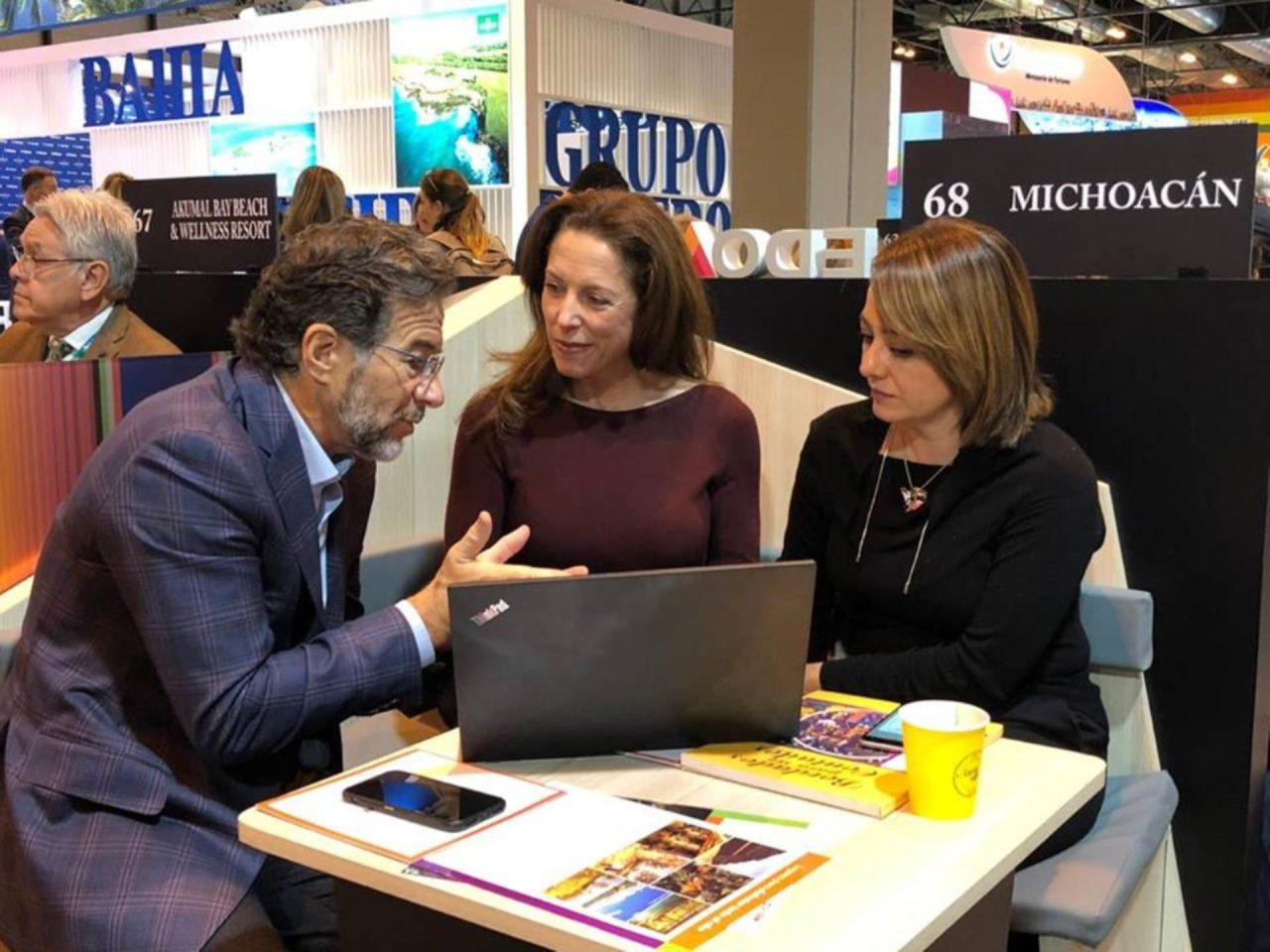 Michoacán despierta interés como destino turístico en la Fitur