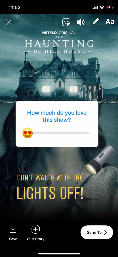 Netflix Instagram