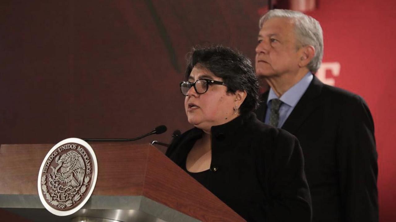 Jefa del SAT, Raquel Buenrostro, da positivo a Covid-19