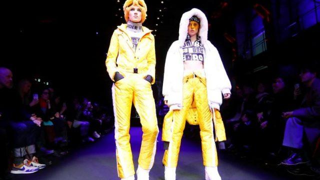Modelos presentan creaciones de la marca de moda Bogner durante la Semana de la Moda de Berlín Otoño/Invierno 2019/20 en Berlín