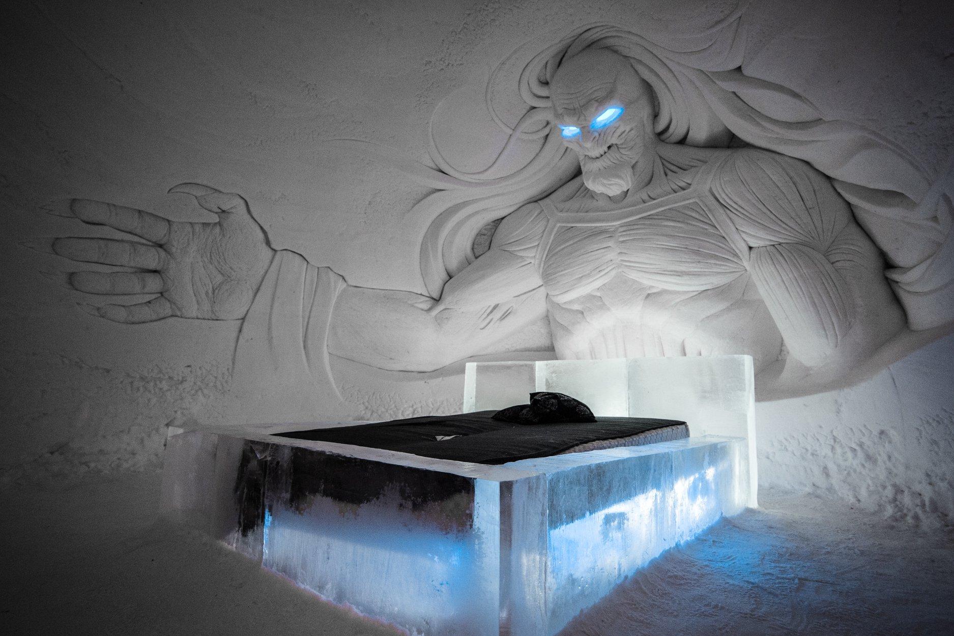 hoteles de hielo