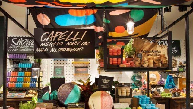 Foto Lush - de su tienda 'Naked' en Milán