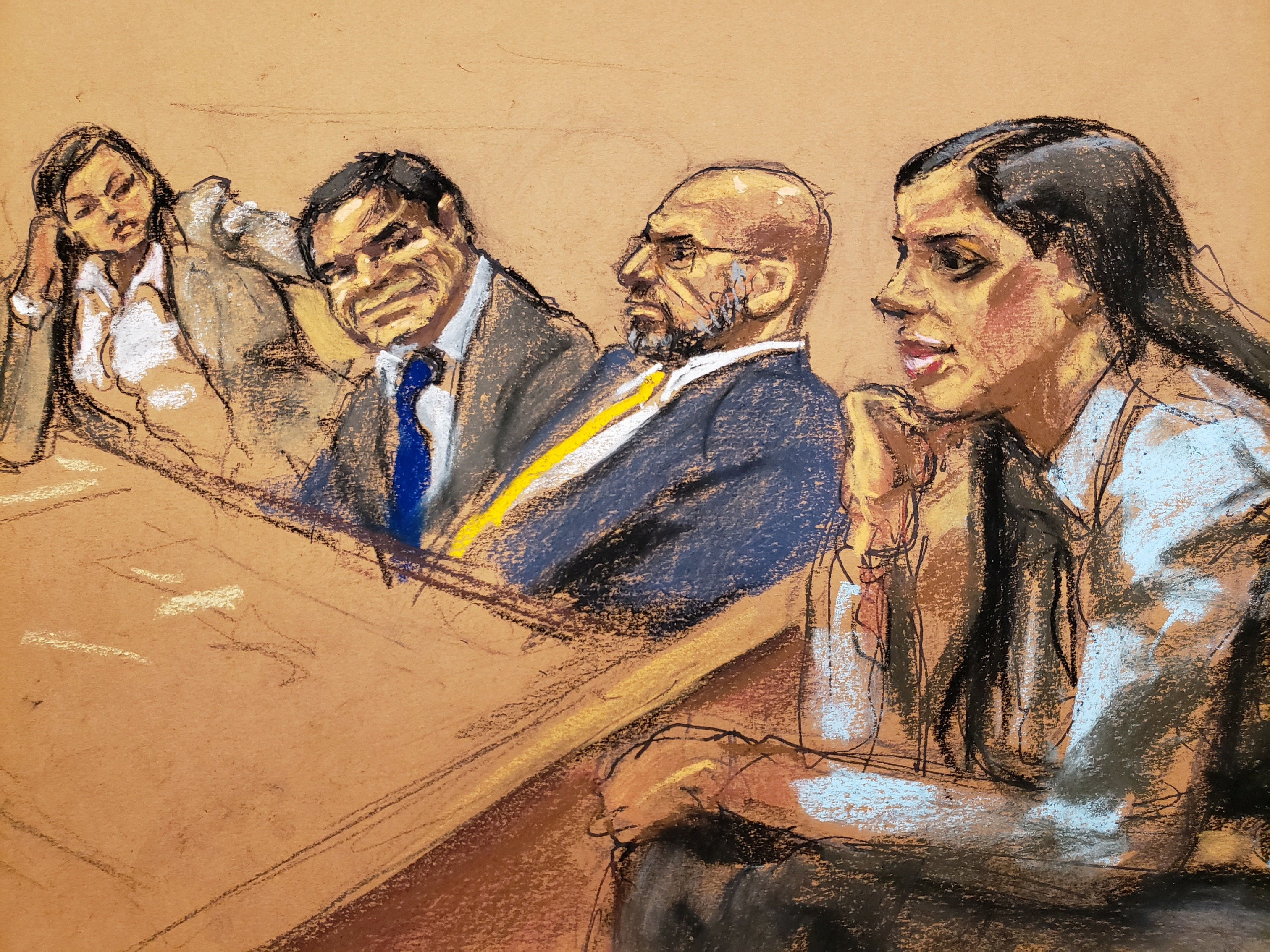 Así reaccionó 'El Chapo' cuando el juez leyó el veredicto
