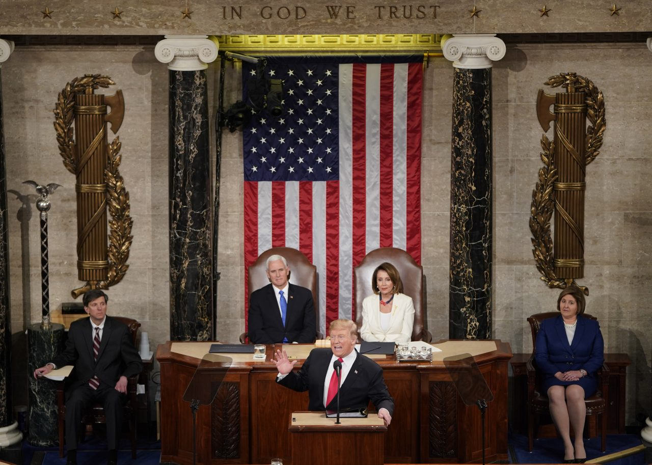 Trump congela los mercados tras su discurso sobre el Estado de la Unión