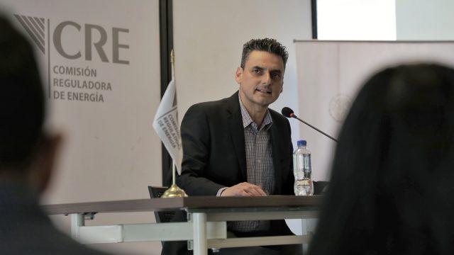 Guillermo Alcocer, Comisionado Presidente de la CRE. Foto: Angélica Escobar / Forbes México.